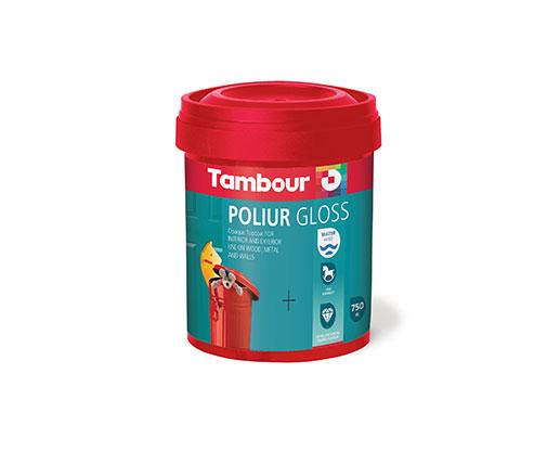 Poliur water-based Glossy finish